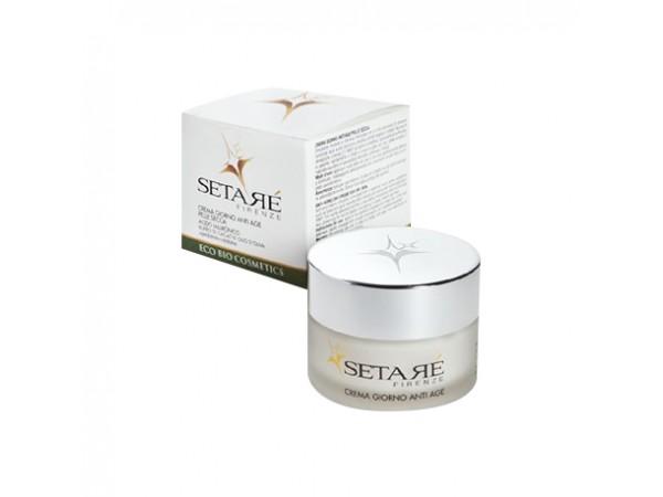Crema giorno anti age pelle secca Setaré