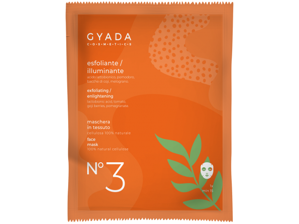 Maschera esfoliante-illuminante N.3 - Gyada Cosmetics