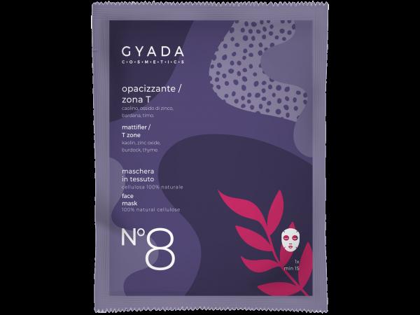 Maschera opacizzante-zona T N.8 - Gyada Cosmetics