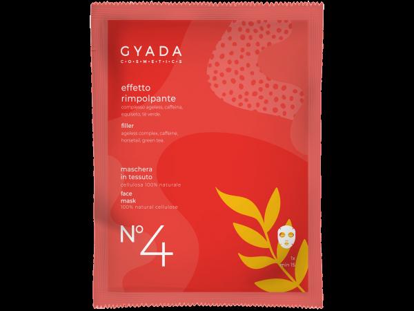 Maschera effetto-rimpolpante N.4 - Gyada Cosmetics