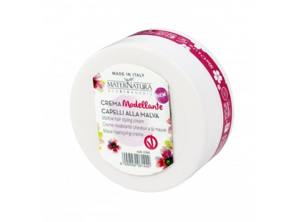 Crema Modellante Capelli alla Malva - MaterNatura