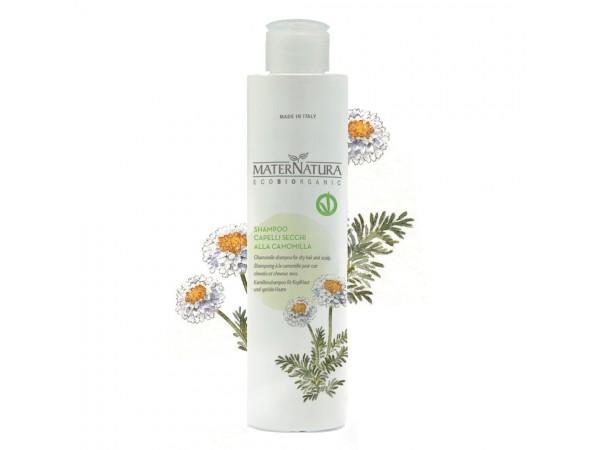 Shampoo cute e capelli secchi alla camomilla - Maternatura