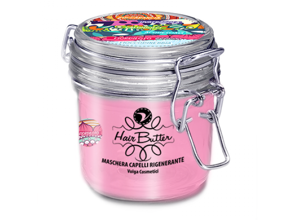 Maschera capelli FIORDILOTO – Hair Butter rosa