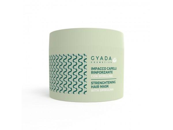Impacco capelli rinforzante con spirulina - Gyada cosmetics
