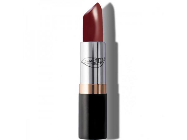 Purobio Rossetto Lipstick N. 08  ROSSO PORPORA