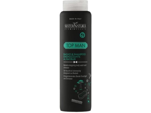 TOP MAN Bagno & Shampoo Energizzante al Baobab