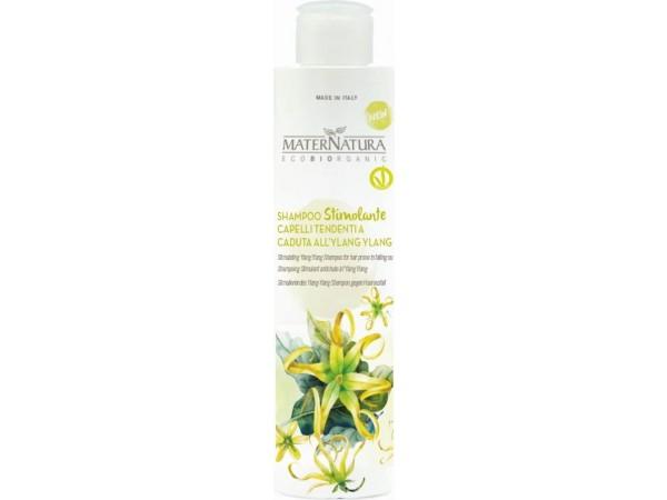 Shampoo Stimolante Capelli Tendenti alla Caduta all'Ylang Ylang - MaterNatura