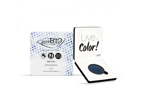 Purobio Ombretto Shimmer in Cialda n. 07 – Blu