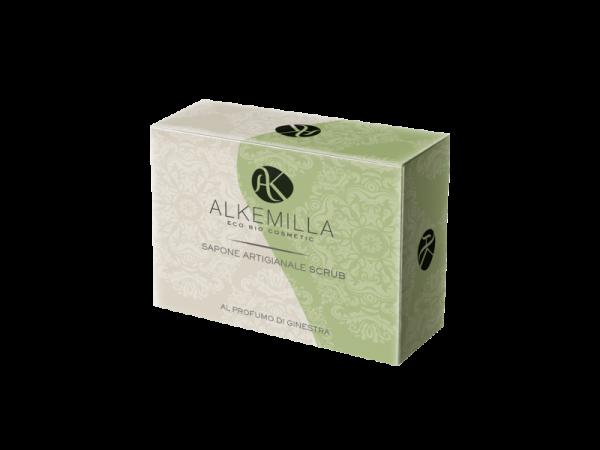 Sapone scrub al profumo di ginestra - Alkemilla