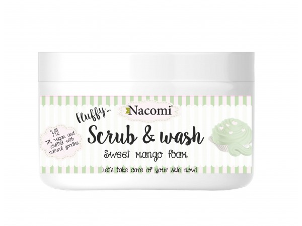 Scrub & Wash mango - 2 in 1 detergente e esfoliante