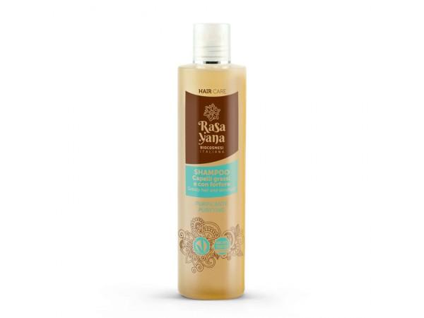 Shampoo Purificante Capelli grassi e con Forfora - Rasayana
