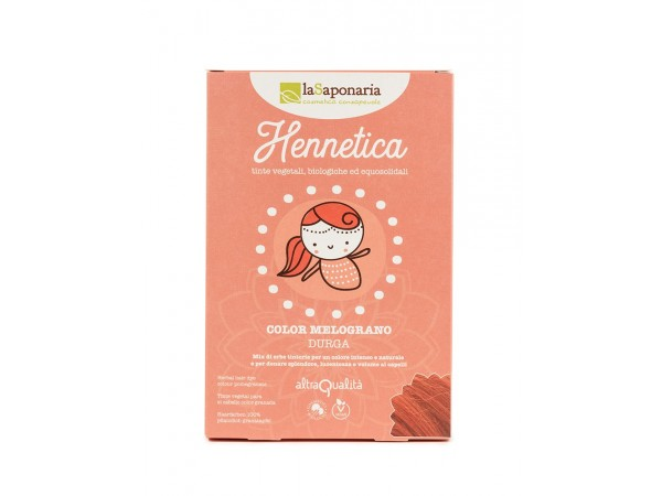 Tinta vegetale melograno - Hennetica - Durga