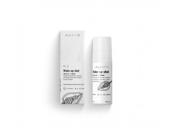 Alkemie - Wake-up shot - Siero viso con tripla Vit. C