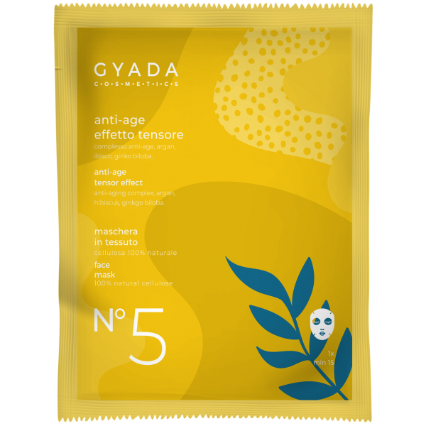 Maschera anti-age effetto-tensore N.5 - Gyada Cosmetics