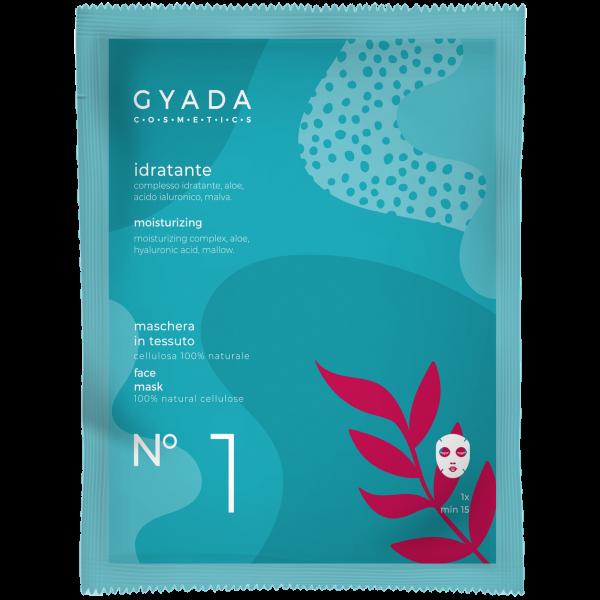 Maschera idratante N.1 - Gyada Cosmetics