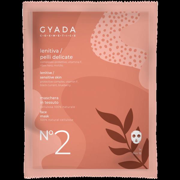 Maschera lenitiva-pelli delicate N.2 - Gyada Cosmetics
