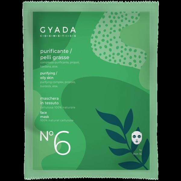 Maschera purificante-pelli grasse N.6 - Gyada Cosmetics