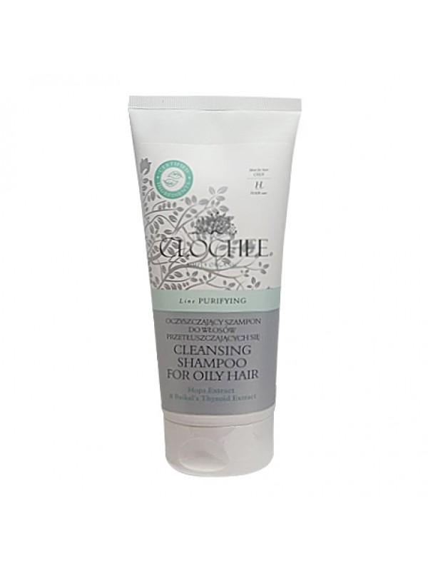 Shampoo Detergente e Purificante per capelli grassi - Clochee