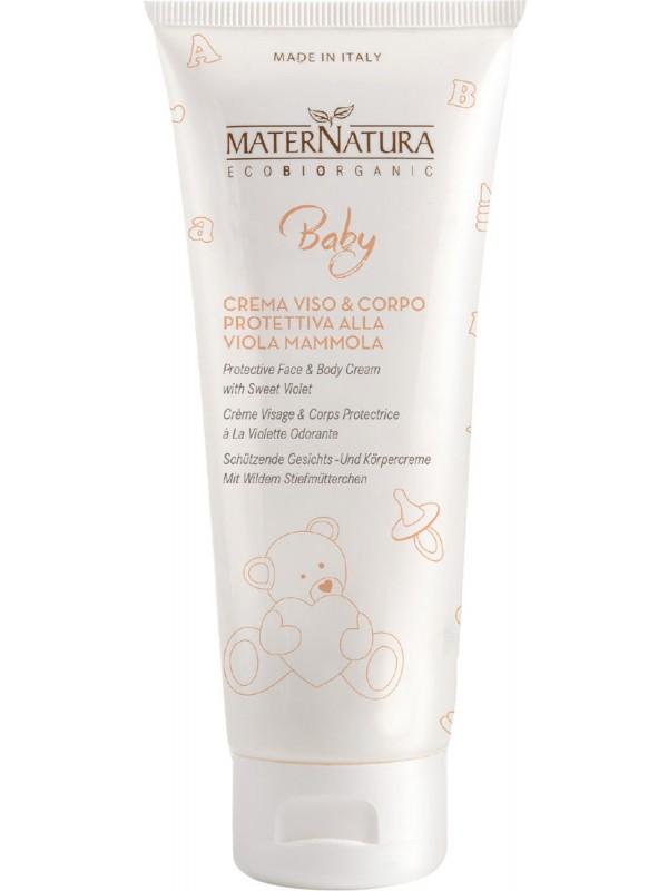 BABY Crema viso&corpo protettiva alla Viola Mammola