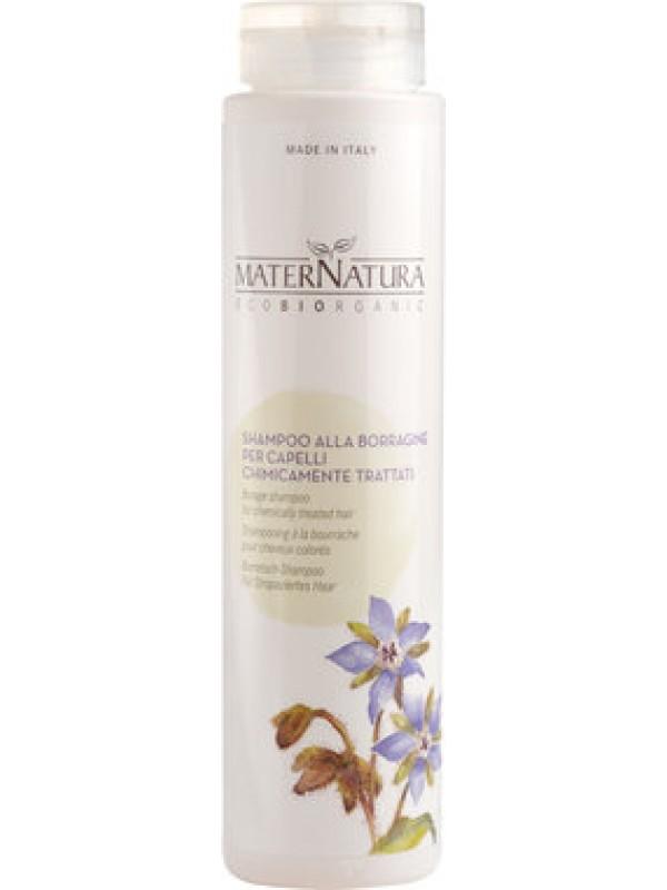 Shampoo alla Borragine capelli chimicamente trattati - Maternatura