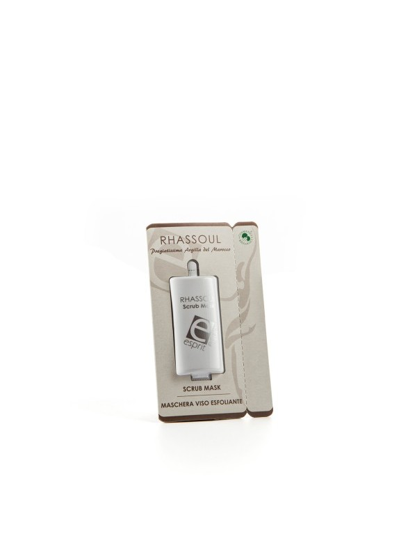 Esprit Equo | Rhassoul Scrub mask (confezione monodose)