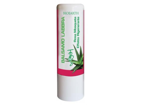 Balsamo Labbra Rosa Mosqueta ed Aloe