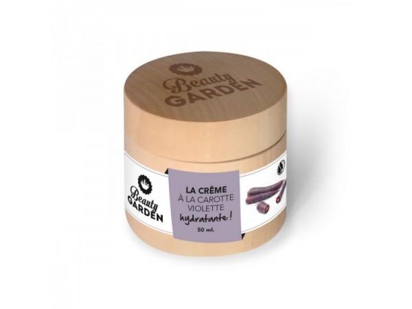 Crema Idratante Bio alla Carota Viola - Beauty Garden