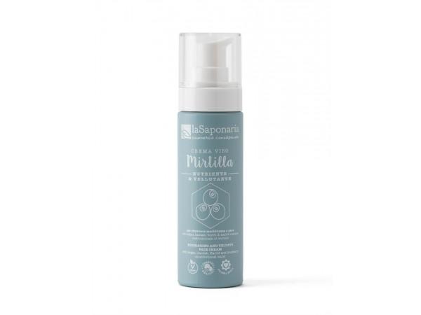 Crema viso nutriente Mirtilla - La Saponaria