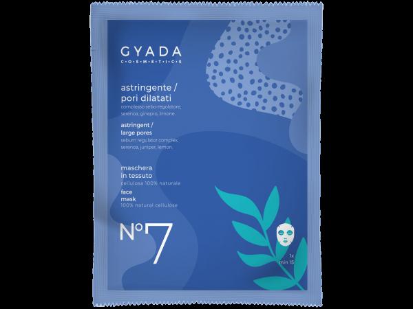 Maschera astringente-pori dilatati N.7 - Gyada Cosmetics