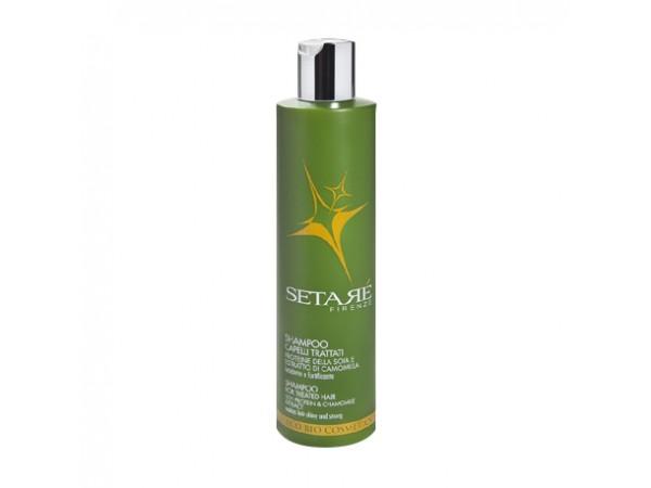 Shampoo Setaré capelli trattati