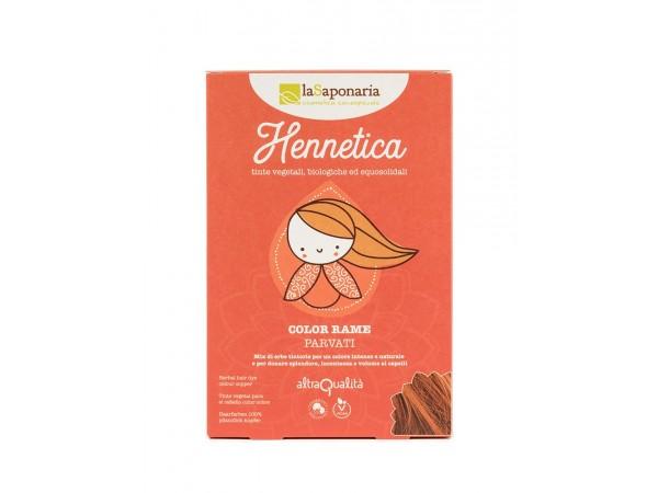Tinta vegetale rame - Hennetica - Parvati